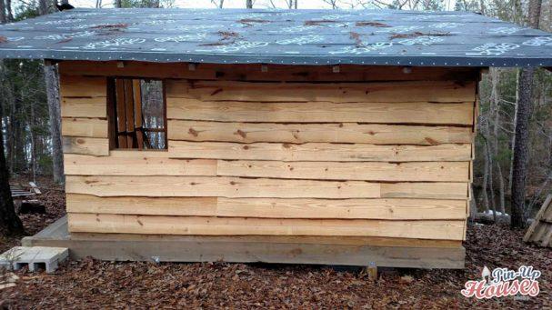 wall wooden battens