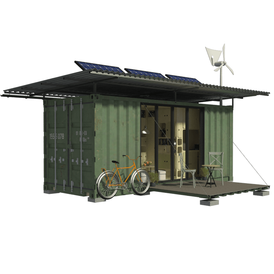 Shipping Container Cabin Plans