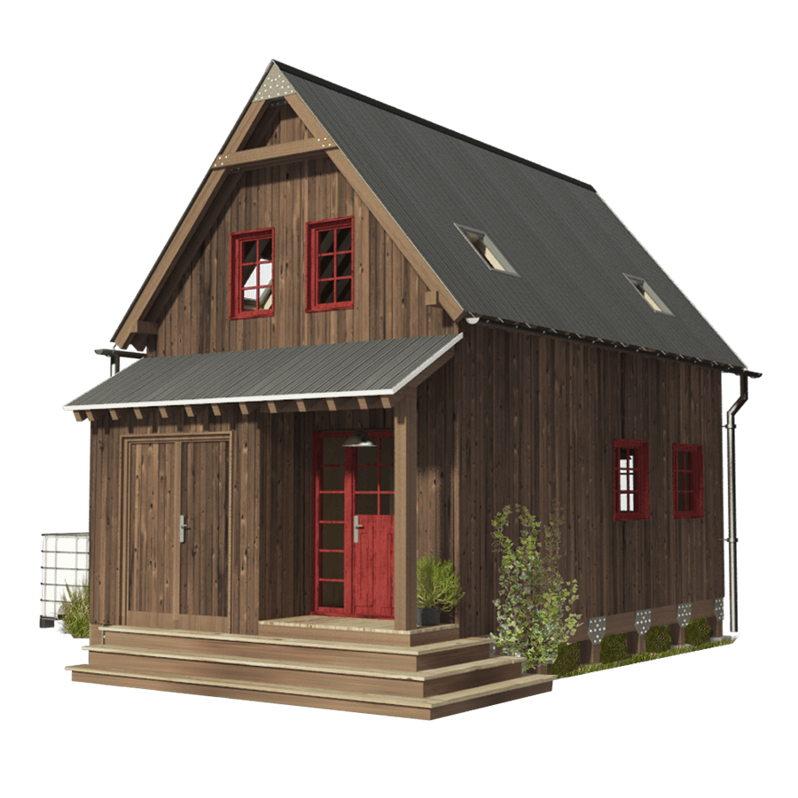 Small 3 Bedroom House Plans- Pin-Up Houses