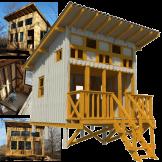 small-beach-cabin-plans