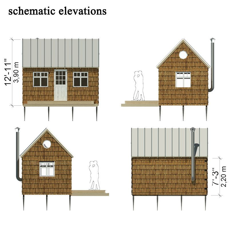 Small Wooden House Plans