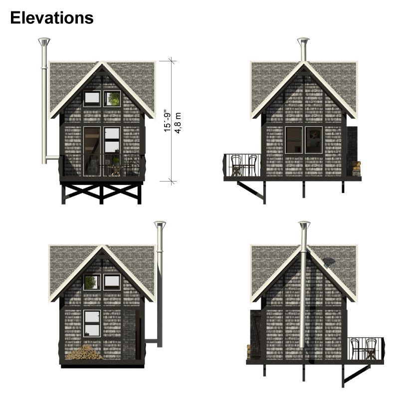 Small Cottage Plans With Loft And Porch