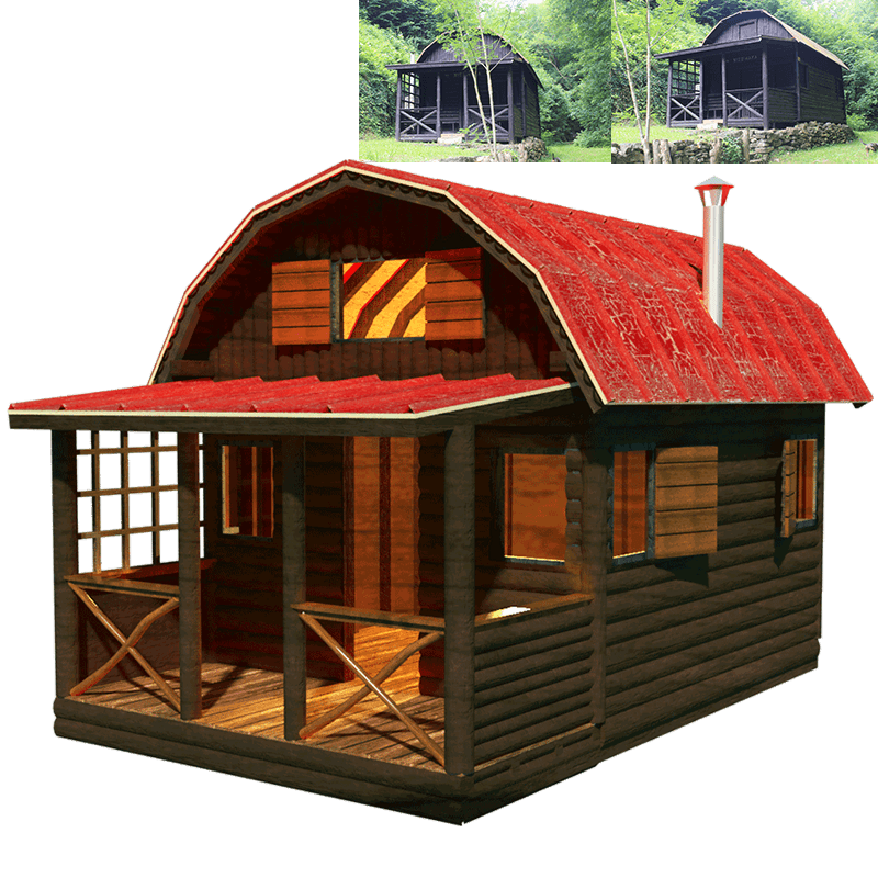 Small country cottage house plans for Tiny house cabin plans