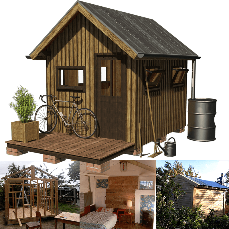 small garden shed wooden plans - 23+ Small House Design With Small Garden  PNG