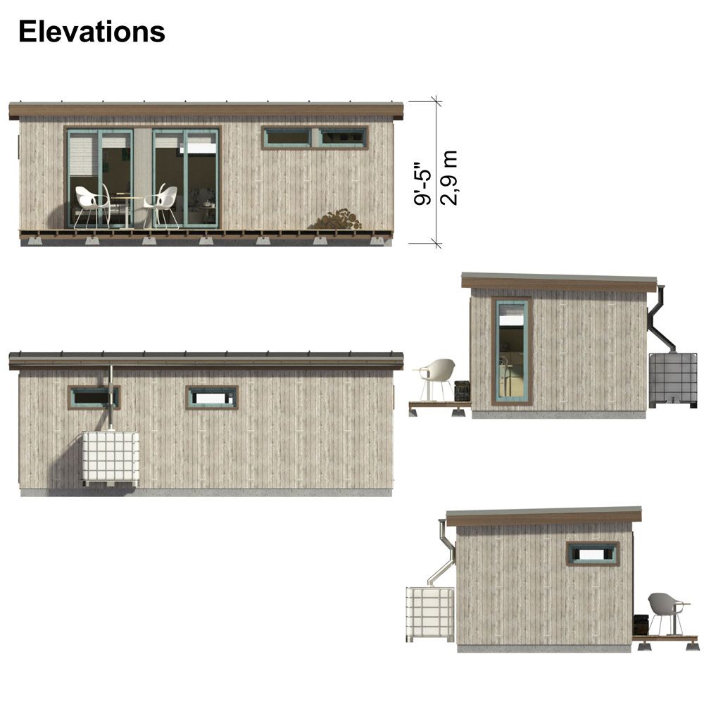 Small Modern Cabin Plans Rylee