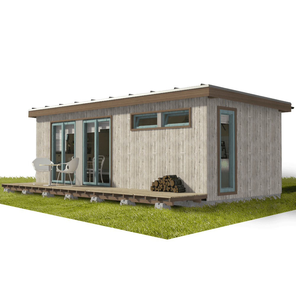 Small Modern Cabin Plans - Pin-Up Houses