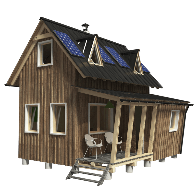 Small wood house plans escortsea for Wood house plan