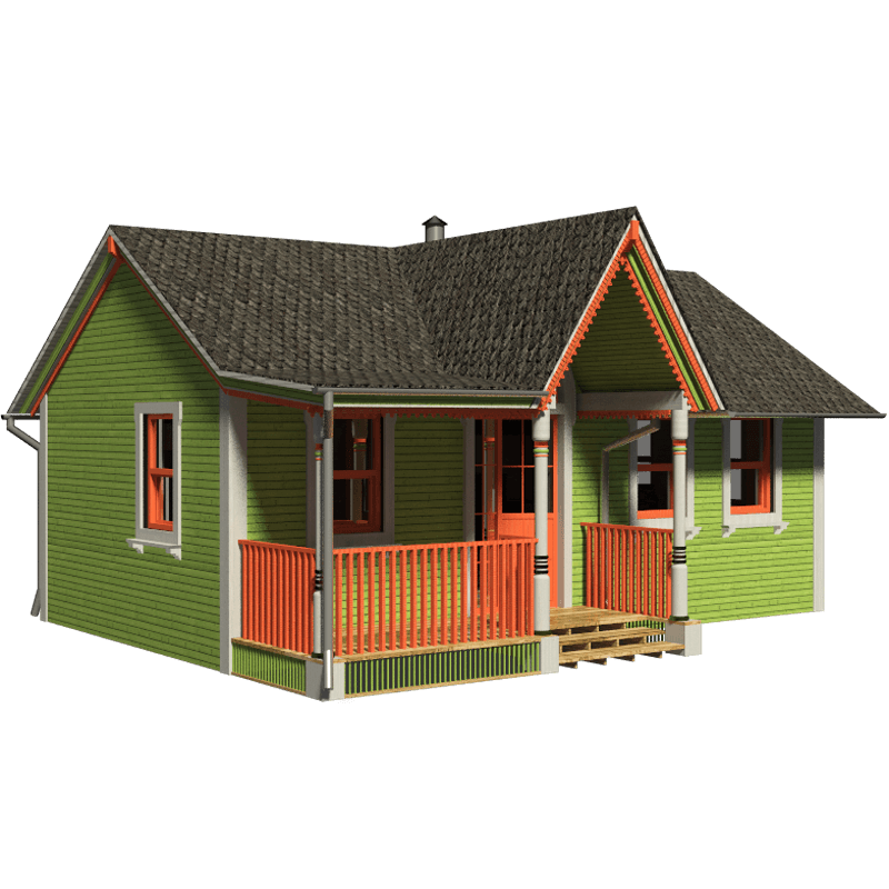 Victorian small house plans for Small cottage plans