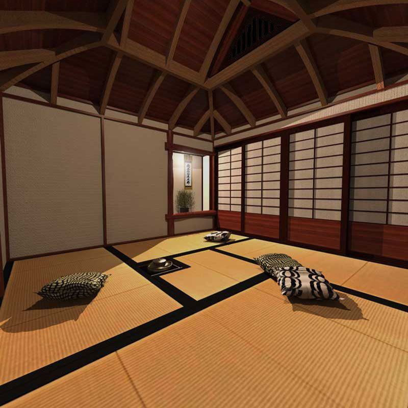 japanese tea house plans 129 00 japanese tea house plans with ...