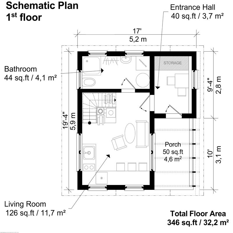 timber framed small two story house floor plans - 19+ Small 3 Bedroom House Plans Two Storey  Gif