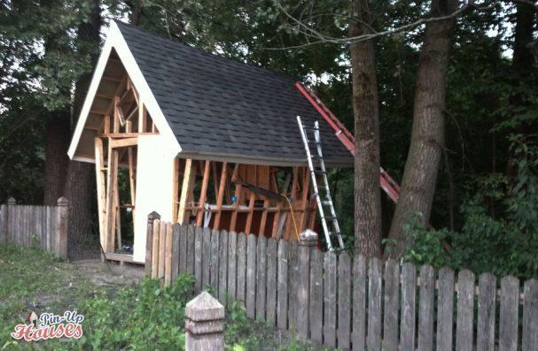 garden shed plans construction timber frame