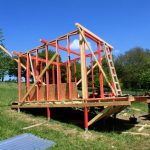 easy to build timber wall framework