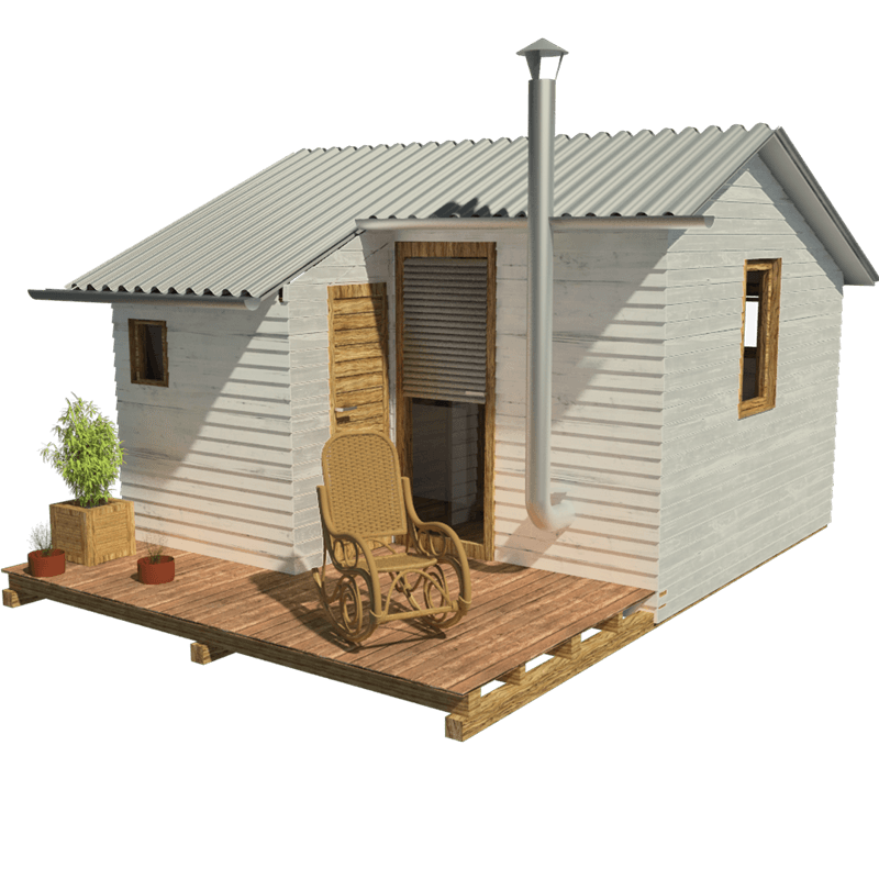 Garden cabin plans for Cabin building plans free