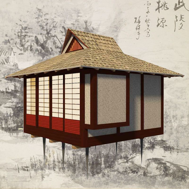 Japanese Tea House Plans